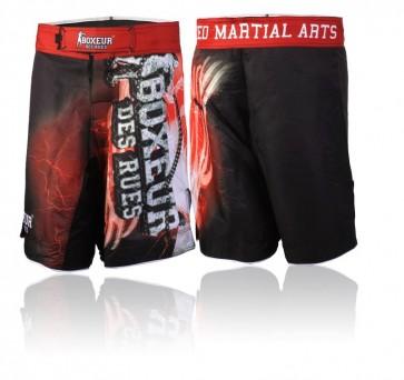 Pantaloncini da MMA Boxeur Des Rues Fantasy BXT-1364 Rosso