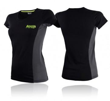 T-shirt sportiva Boxeur Des Rues BXT-2676 Nero-grigio