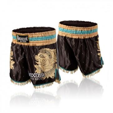 Pantaloncini da Kick e Thai Boxeur Des Rues Hanuman BXT-1507 Nero