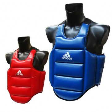 Corpetto reversibile Adidas rosso-blu