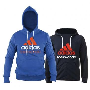 Felpa con cappuccio Adidas Community Taekwondo