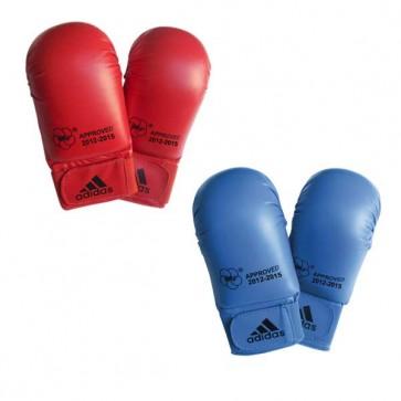 Guanti da Karate-Kumite Adidas Rosso e Blu Omologati WKF