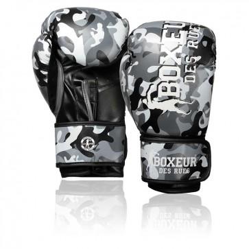 Guantoni Boxeur Des Rues Camouflage Army BXT-5145/46 Grigio