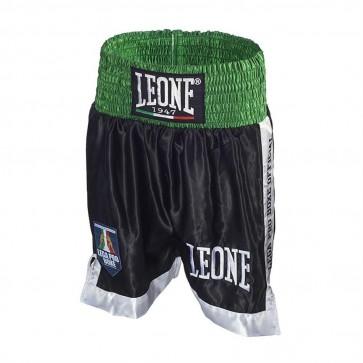 Pantaloncini da Boxe Leone AB735 Nero