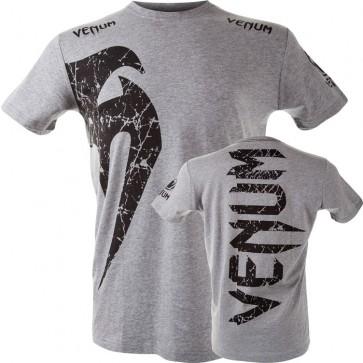 T-Shirt in Cotone Venum Giant Grigio-Nero