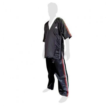 Uniforme da kick boxing Adidas Italia Nero