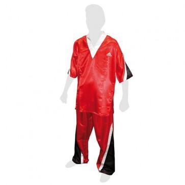 Uniforme da kick boxing Adidas Rossa