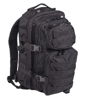 Zaino Nero US Assault Small Mil-Tec