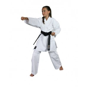 Karategi Kabuki bianco Oriente Sport Bambina