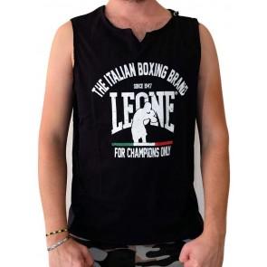 Canotta Leone Black LSM749