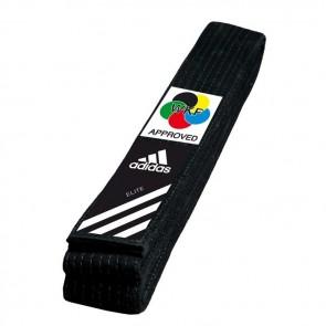 Cintura Nera Adidas Elite WKF