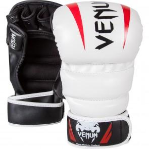 Guanti MMA Sparring 7 Oz Venum Elite Bianco