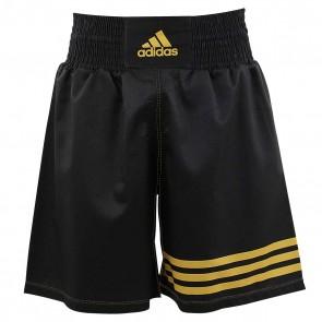 Pantaloncini da Boxe Adidas Nero-Oro