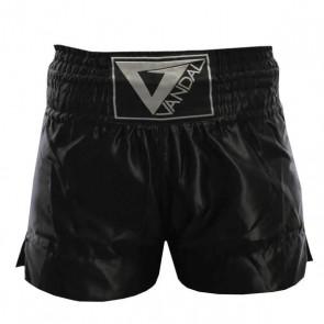 Pantaloncini da Muay Thai e Kick Boxing Vandal Neri