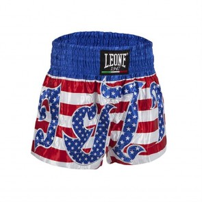 Pantaloncini Muay Thai Leone Power Usa AB748