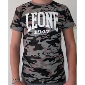T-Shirt Maniche corte Leone Camouflage LSM593
