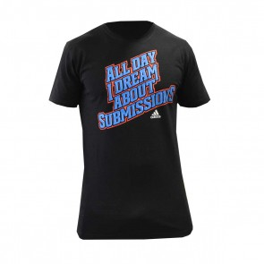 "T-shirt Adidas ""All day I dream about submission"""