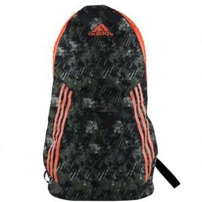 Zaino Training Backpack Zipper Adidas Camo Orange 59x32x22
