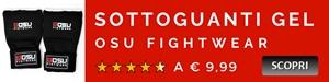 Sottoguanti Gel Osu Fightwear