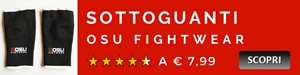 Sottoguanti Osu Fightwear
