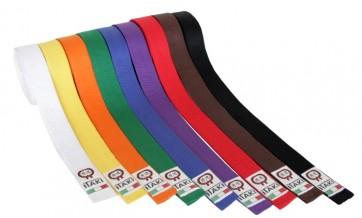 Cintura Colorata Itaki Art. 20 per Karate, Judo, TaekWondo