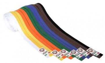 Cintura Bicolore Itaki Art. 21 per Karate, Judo, TaekWondo