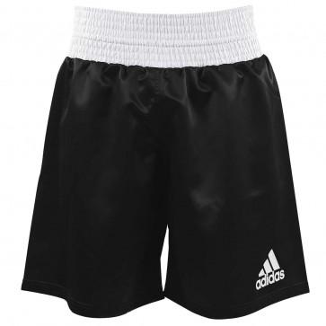Pantaloncini da Boxe Adidas Nero - Bianco