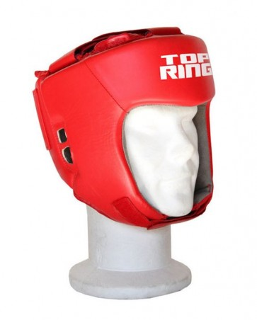 Caschetto Boxe Match Dilettanti Top Ring Art. 332A ROSSO