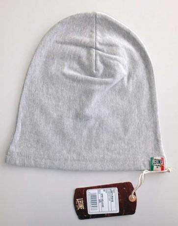 Berretto in lana Leone Grey Melange LX781