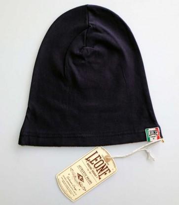 Berretto in lana Leone Navy Blue LX781