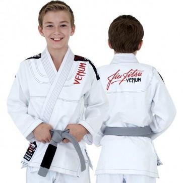 BJJ Gi da bambino Venum Challenger 2.0 bianco