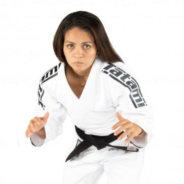 BJJ Gi donna Tatami Fightwear Comp SRS Lightweight 2.0 bianco