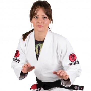 BJJ Gi donna Tatami Fightwear Nova Minimo 2.0 bianco