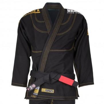 BJJ Gi Tatami Fightwear Black Urban Mech nero