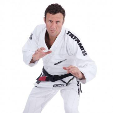 BJJ Gi Tatami Fightwear Essential bianco