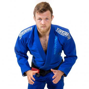 BJJ Gi Tatami Fightwear Estilo blu-grigio