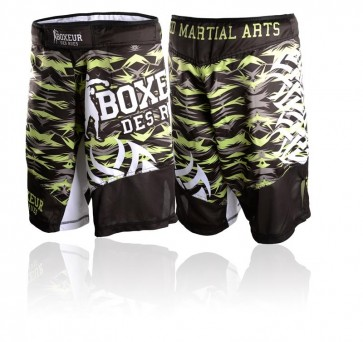 Pantaloncini da MMA Boxeur Des Rues Tribal 2.0 BXT-1490 Giallo