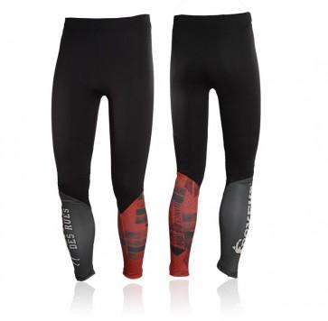 Pantaloni a compressione Boxeur Des Rues Cross BXT-1531 Rosso