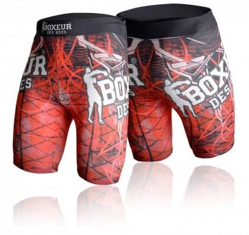 Pantaloncini da MMA Boxeur Des Rues Cross 2.0 BXT-1532 Rosso