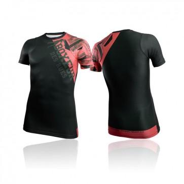 T-shirt a compressione Boxeur Des Rues BXT-2732 Rosso