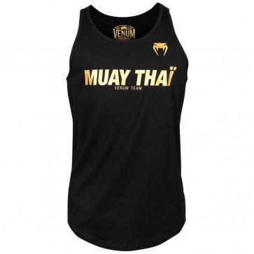 Canotta Venum Muay Thai VT Nero-Oro