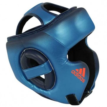 Casco Adidas Speed Training Blu Metallizzato