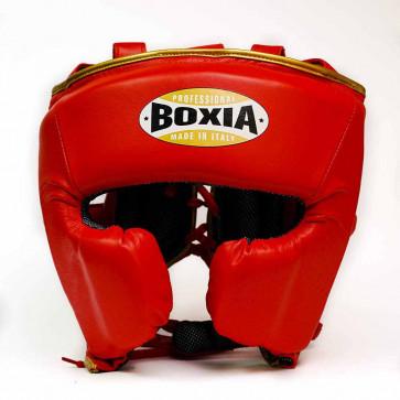 Casco Boxia Challenge Rosso-oro con Parazigomi
