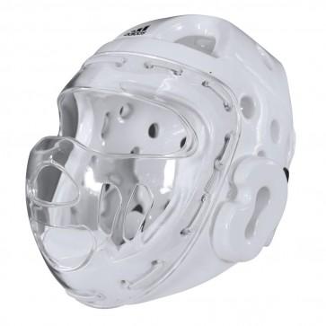 Casco Con Visiera Adidas bianco