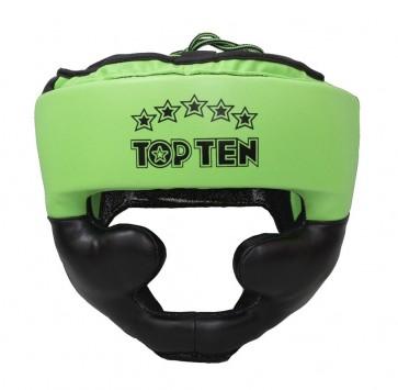 Casco Top Ten Eco R2M Line Neon Verde
