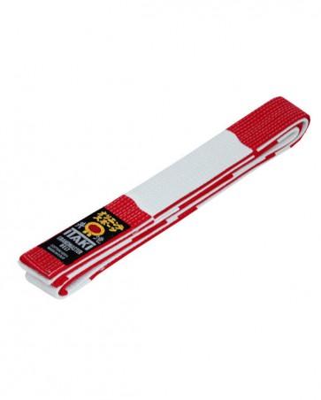 Cintura Professionale Bianca e rossa ITAKI Art. 33