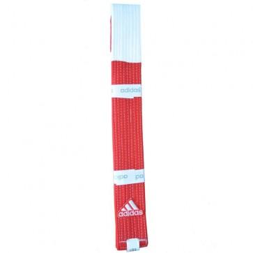 Cintura Adidas 6° Dan Rosso-Bianco