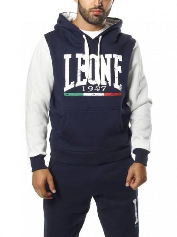 Felpa con cappuccio Leone LSM1243 Blu