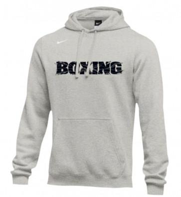 Felpa Nike Training Boxing Grigio con cappuccio