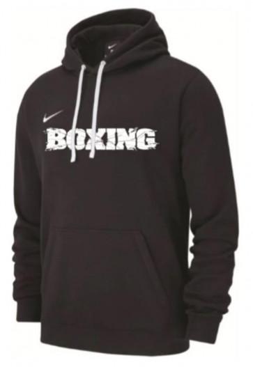 Felpa Nike Training Boxing Nero con cappuccio